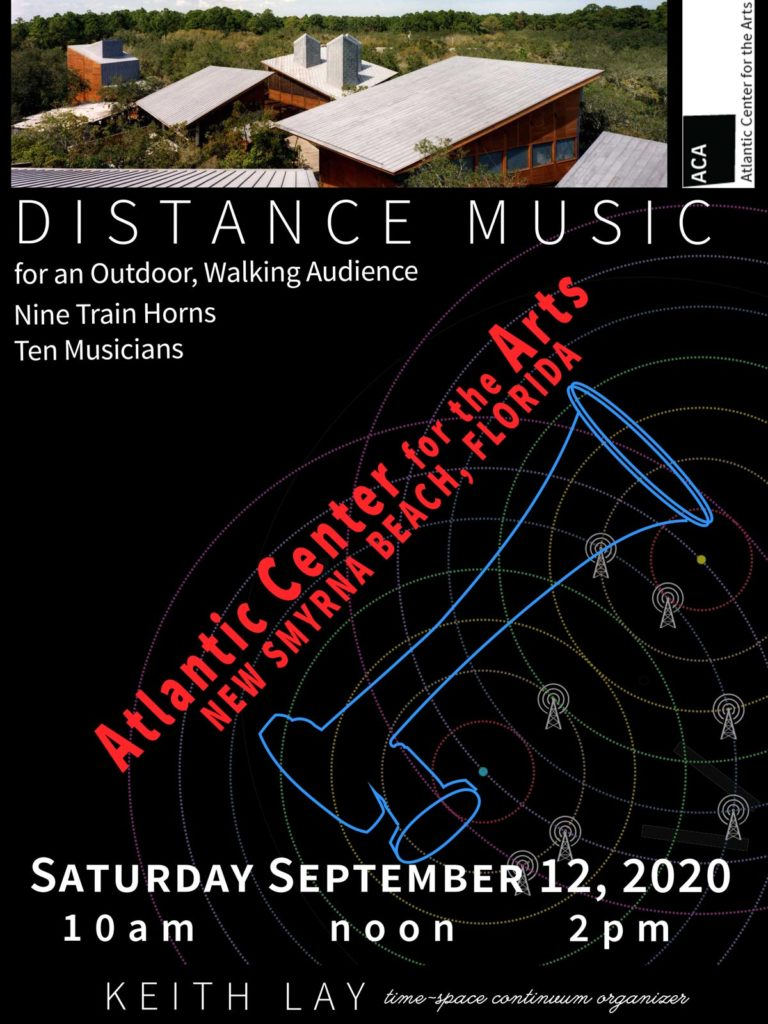 Distance Music at ACA poster