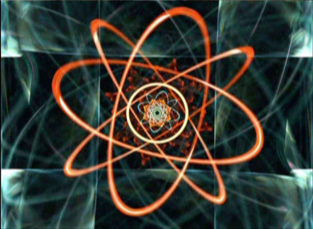 atom still