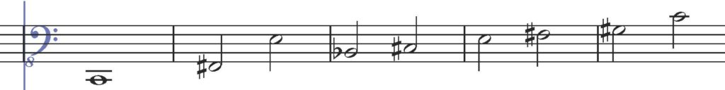 notation from Dimension 1